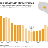 Premium flower demand drives Colorado wholesale marijuana prices to nearly  five-year highs