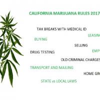 CALIFORNIA MARIJUANA RULES 2017-2018
