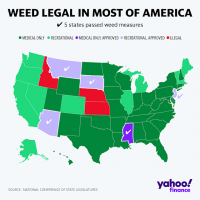 2020 elections: 5 states pass legal marijuana measures, potentially growing  industry by $9 billion