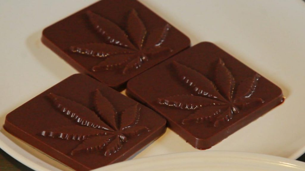 How To Make Cannabis Chocolate (easy-to-follow infographic): abv