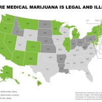 MAP: Medical marijuana laws state by state