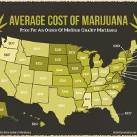 The Average Cost of Marijuana by State - Oxford Treatment Center
