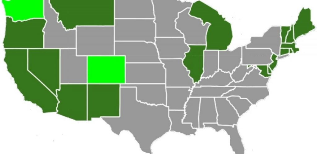 State Marijuana Laws - U.S. Map