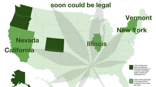 States With Recreational Marijuana - WHERE IS MEDICAL MARIJUANA LEGAL AND  WHERE IS RECREATIONAL MARIJUANA LEGAL?