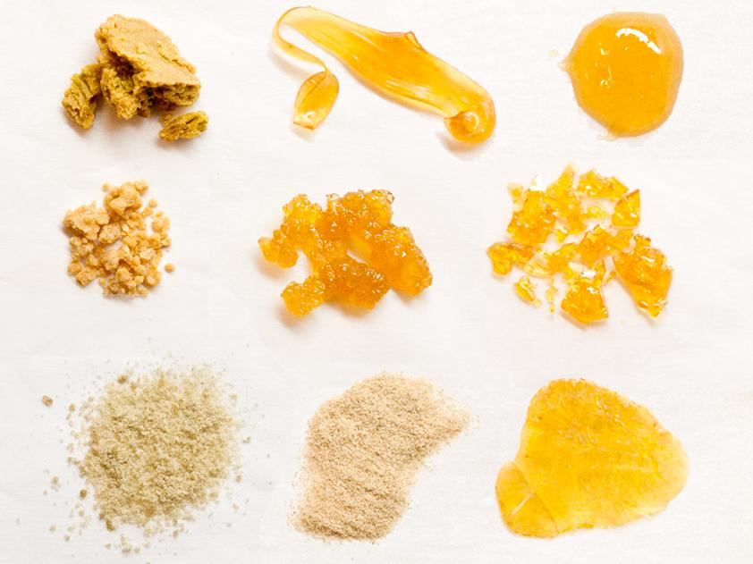 Different Types of Cannabis Concentrates How to Make them